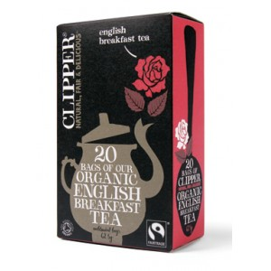 TE' ENGLISH BREAKFAST FAIRTRADE BIO - FINESTRA SUL