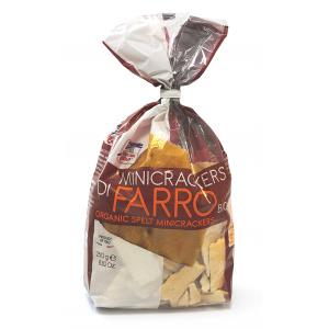 MINICRACKERS DI FARRO 250gr - LA FINESTRA SUL