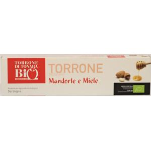 TORRONE DI TONARA MANDORLE E MIELE 150 GR -
