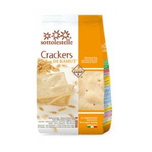 CRACKERS DI KAMUT 200g - SOTTO LE STELLE