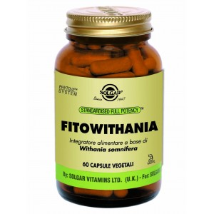 FITOWITHANIA 60cps - SOLGAR