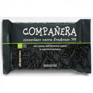 CIOCCOLATO EXTRA FONDENTE 70% COMPANERA -