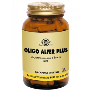 OLIGO ALFER PLUS 90cps - SOLGAR