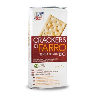 CRACKERS DI FARRO S/LIEVITO 280gr - LA FINESTRA