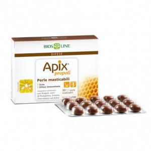APIX PROPOLI PERLE MASTICABILI 30 - BIOSLINE