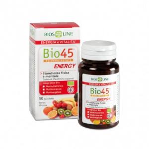 BIO45 ENERGY CON GUARANÀ 50cps - BIOSLINE