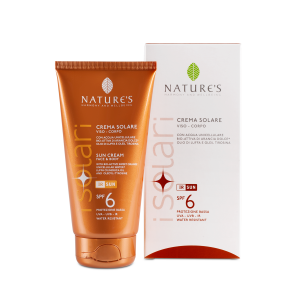 CREMA SOLARE SPF6 150ml - NATURE'S