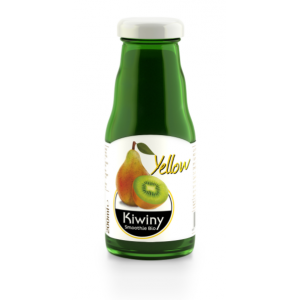 SMOOTHIE YELLOW SUCCO E POLPA DI KIWI E PERA 200ml