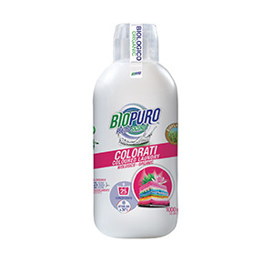 DETERSIVO PER COLORATI 1000ml - BIOPURO