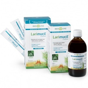 LARIMUCIL TOSSE ADULTI 16bustineX10ml - BIOSLINE