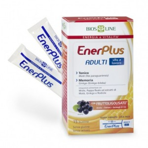 ENERPLUS ADULTI 15bustineX10ml - BIOSLINE