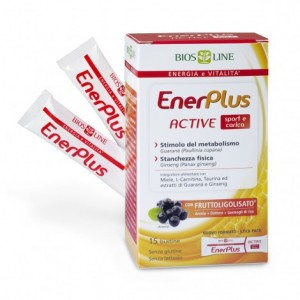 ENERPLUS ACTIVE 15bustineX10ml - BIOSLINE