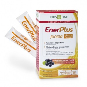 ENERPLUS JUNIOR 15bustineX10ml - BIOSLINE