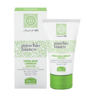 CREMA MANI LUMINOSA MUSCHIO BIANCO 50ml - HELAN