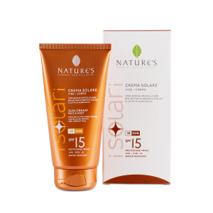 CREMA SOLARE SPF15 150ml - NATURE'S