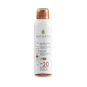 SPRAY SOLARE VISO-CORPO SPF20 125ml - NATURE'S
