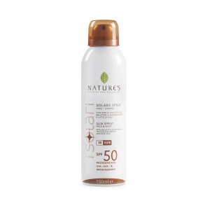 SPRAY SOLARE VISO-CORPO SPF50  150ml  - NATURE'S