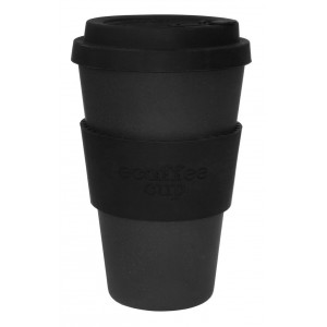 ECOTAZZA IN BAMBU NERA 400ml - ECOFFEE CUP