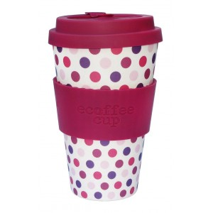 ECOTAZZA IN BAMBOO IN FANTASIA 400ml - ECOFFEE CUP