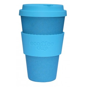 ECOTAZZA IN BAMBU BLUE 400ml - ECOFFEE CUP