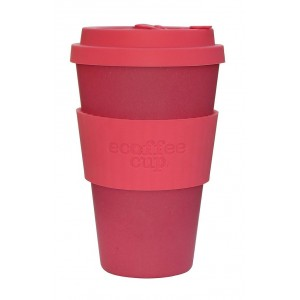 ECOTAZZA IN BAMBU ROSA 400ml - ECOFFEE CUP