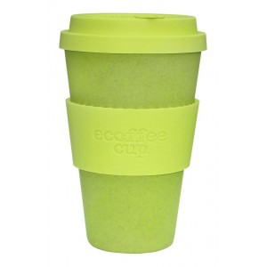ECOTAZZA IN BAMBU LIME 400ml - ECOFFEE CUP