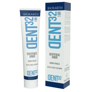 DENTIFRICIO JUNIOR – AROMA FRAGOLA 75ml - BIOEARTH