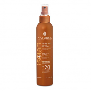 SPRAY FLUIDO SOLARE VISO-CORPO SPF 20 200 ML -