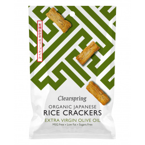 CRACKERS DI RISO GIAPPONESI ALL'OLIO EVO 50 GR -