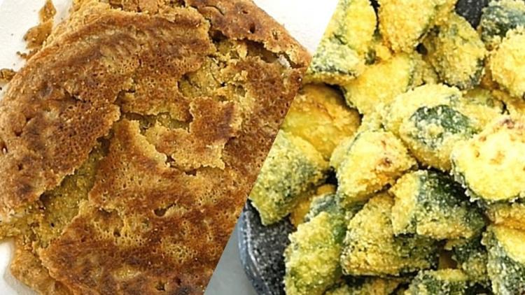 Farinata di Ceci e Zucchine al forno