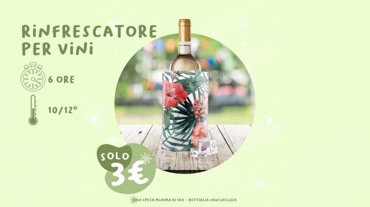Ricevi il tuo rinfrescatore per vini Vacu-Vin