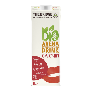 BEVANDA DI AVENA CON CALCIO 1lt - THE BRIDGE