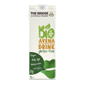 BEVANDA DI AVENA SENZA GLUTINE 1lt - THE BRIDGE