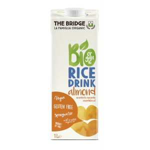 BEVANDA DI RISO E MANDORLA 1lt - THE BRIDGE