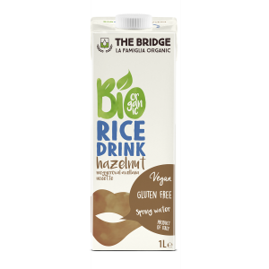 BEVANDA DI RISO CON NOCCIOLA 1lt - THE BRIDGE