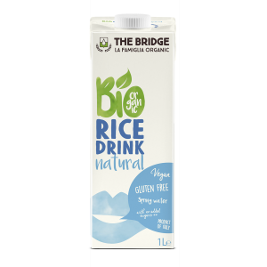 BEVANDA DI RISO NATURALE 1lt - THE BRIDGE