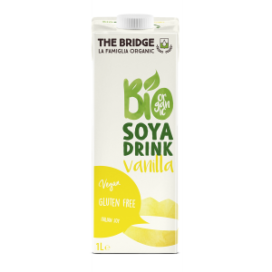 BEVANDA DI SOIA ALLA VANIGLIA 1lt - THE BRIDGE