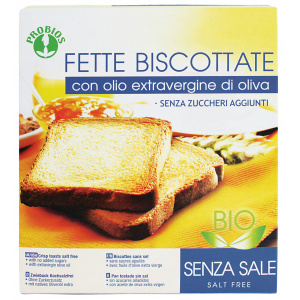 FETTE BISCOTTATE SENZA SALE 270gr - PROBIOS