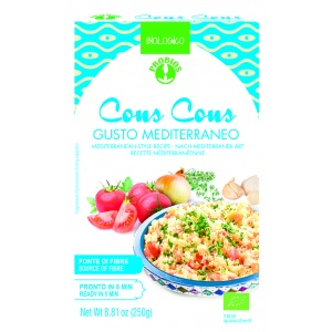 COUS COUS GUSTO MEDITERRANEO 250gr - PROBIOS