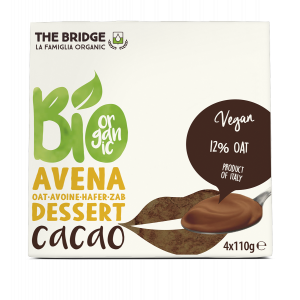 DESSERT AVENA CACAO 4X110gr - THE BRIDGE