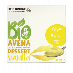 DESSERT AVENA VANIGLIA 4X110gr - THE BRIDGE