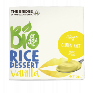 DESSERT RISO VANIGLIA 4X110gr - THE BRIDGE