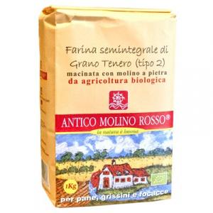FARINA DI GRANO TENERO SEMINTEGRALE 1kg - ANTICO
