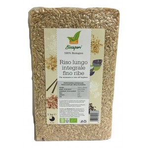RISO LUNGO INTEGRALE FINO 1kg - BIOSAPORI