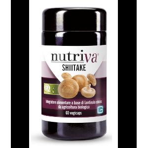 SHIITAKE 60cps - NUTRIVA