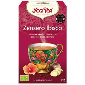 ZENZERO IBISCO - YOGI TEA